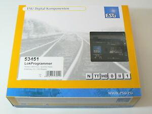 ESU-53451-LokProgrammer-mit-Netzteil-Serielles-Kabel-USB-Adapter-neu-OVP