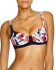 NEW Kate Spade Colombe d'Or Bikini Swimwear Top ONLY Rich Navy L Large