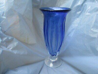 Very Pretty Cobalt Vase 11 inch Tall