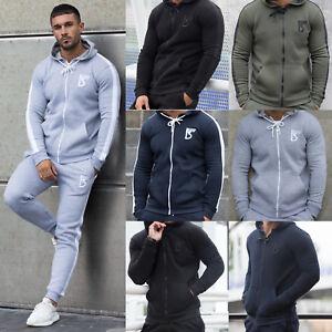 1be6cea4e1b7 New BBH Mens Tracksuit Top Fleece Designer Slim Fit Hooded Fitness ...
