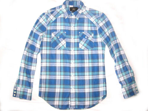 Lauren Button Shirt Ace Double Nieuw Casual Ralph Rrl Small Plaid S Up Heren uOiPkTXZ