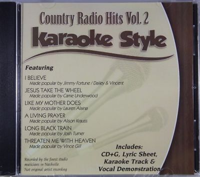 Country Radio Hits Volume 2 Christian Karaoke Style New Cd+g Daywind 6 Songs Karaoke Entertainment Musical Instruments & Gear