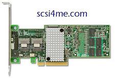 NEW LSI00277 MegaRAID 9265-8i 6Gb/s SATA+SAS RAID Controller Optional LSIiBBU09