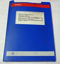 Reparatiebrochure VW Passat B 5 Elektrische installatie zelfdiagnose ab 1997