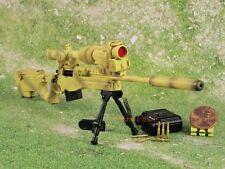 1:6 Action Figure Accuracy International AWM MK 13 Mod 5 G22 Desert Sniper Rifle