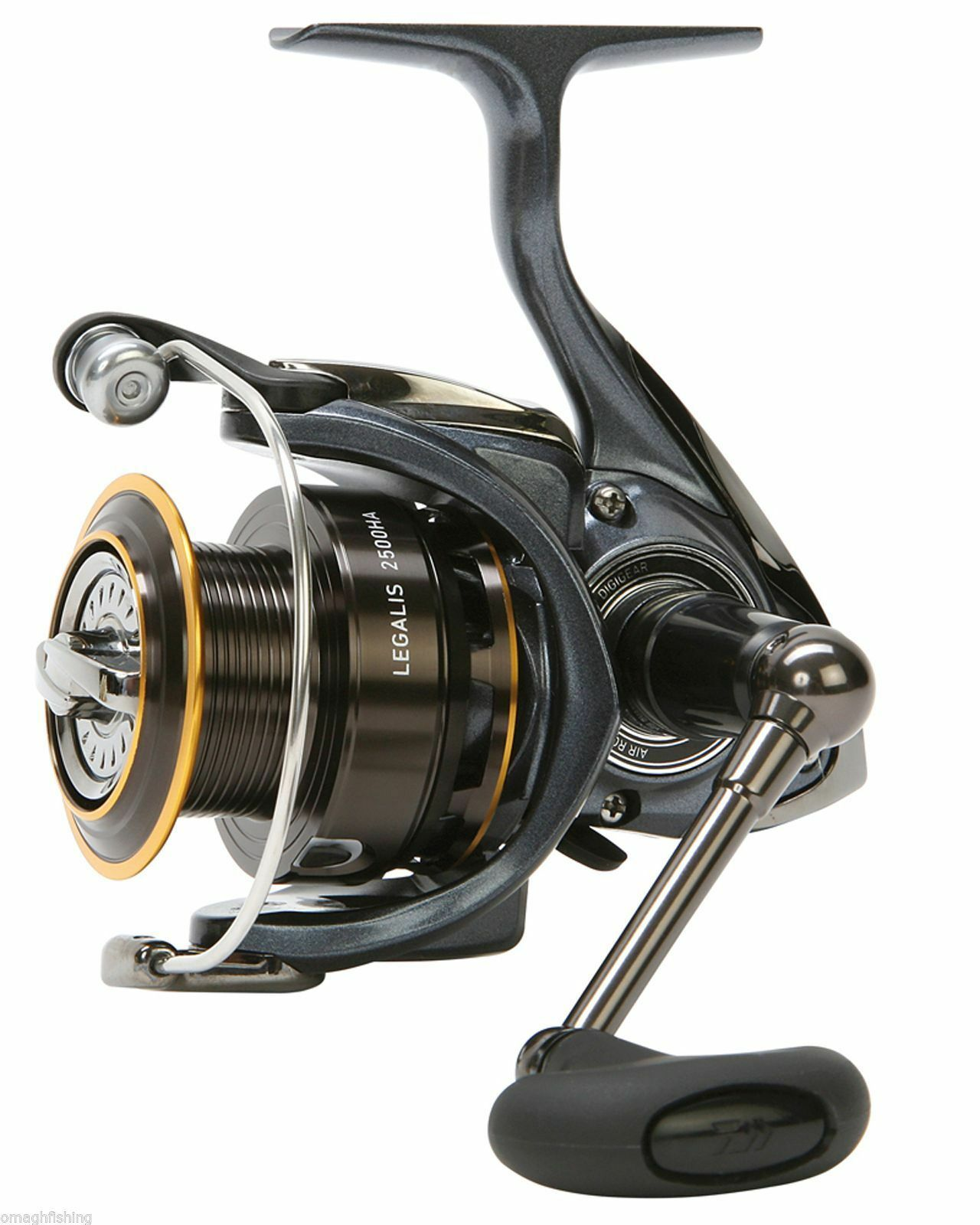 Daiwa Legalis Front Drag Carp Feeder Spinning Reel Choice 2500HA,3000HA,4000HA