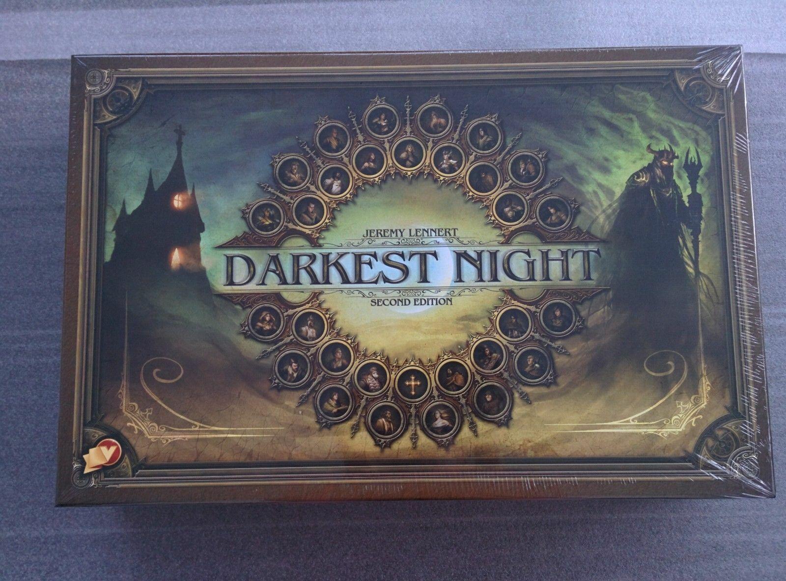 Darkest Night- Second edizione  + Miniatures set  si affrettò a vedere