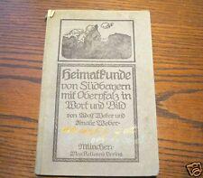 Heimatkunde von Südbayern mit Oberpfalz in Wort und Bild 1896 Weber's 2. Band