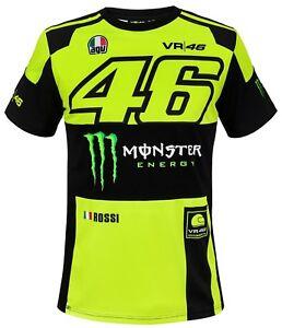 VR46 Replica Monza Herren T-Shirt VR 46 Valentino Rossi Dottore