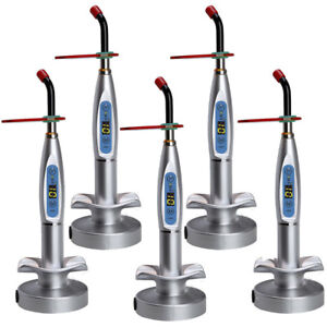 New-Dental-10W-Wireless-Cordless-LED-Curing-Light-Lamp-2000mw-Tool-US-Fast-Ship