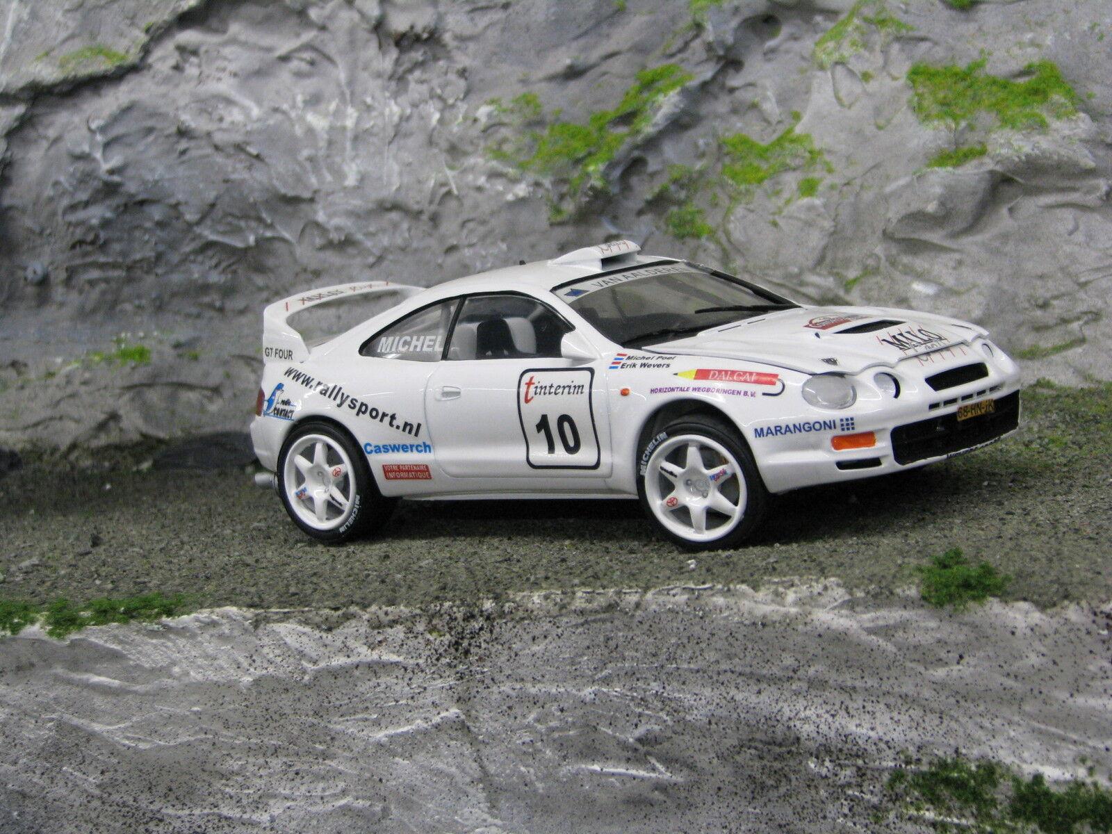 QSP QSP QSP Toyota Celica GT-Four 1995 1 24 Wevers   Poel Rallye du Condroz-Huy 2001 a71e5a