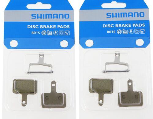 2 Paar Shimano B01S Resin Bremsbeläge BR-M 445 446 575 486 525 Disc Beläge Pads