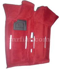 Fiat 600 Red Interior Molded Carpet New