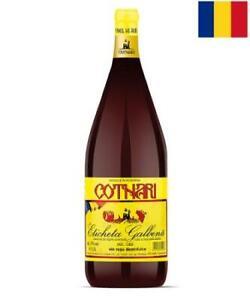 "Wein Cotnari rot lieblich ""ETICHETA GALBINA"" 12% vol Rotwein Romania Wino 1,5l"