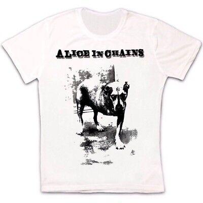 Alice In Chains Cane Grunge Seattle Pearl Jam Soundgarden Foro Unisex Maglietta 7-mostra Il Titolo Originale