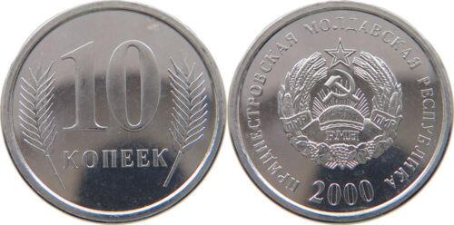KM3 Transnistria 2000 10 Kopek Uncirculated