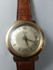Hafis automatic watch vintage, 17j. Original box, working