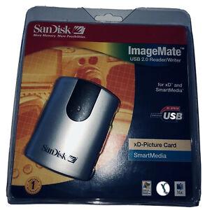 SanDisk ImageMate USB 2.0 Reader/Writer For Xd & Smart Media Xd Picture Card New