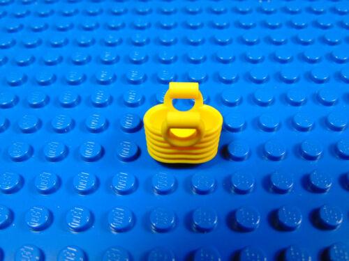 LEGO-MINIFIGURES CITY X 1 BRIGHT LIGHT ORANGE BASKET FOR MINIFIGURES PARTS