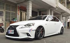 CARBON FRONT LIP SPOILER A STYLE FOR 2013+ LEXUS IS IS250 IS350 IS300h F-SPORT