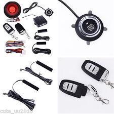 Car Alarm System PKE-Passive Keyless Entry remote start push button Hopping code