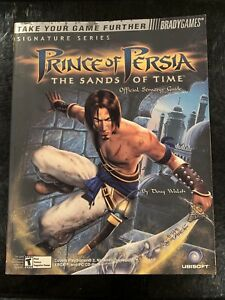 Bradygames Strategy Guide Signature Series Prince Of Persia The