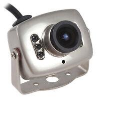 Mini LED Wired CMOS CCTV Security Camera Night Vision Hidden Pinhole Spy Camera
