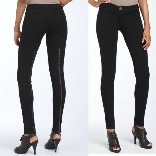 Leggings 25 Taille Back Zip Jet Noir Elliott Current xnWOX