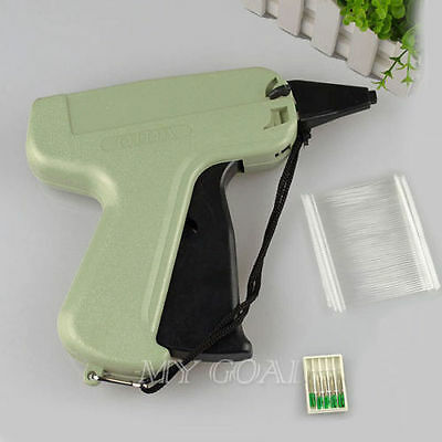 Clothes Garment Price Label Tagging Tags Gun Machine+1000 Barbs+5   Steel Needle