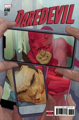 Daredevil #606 MARVEL COMICS COVER A 1ST PRINT