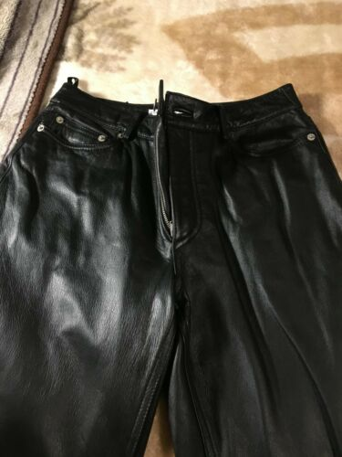 Tommy Hilfiger Women's 100% Leather Genuine Pants