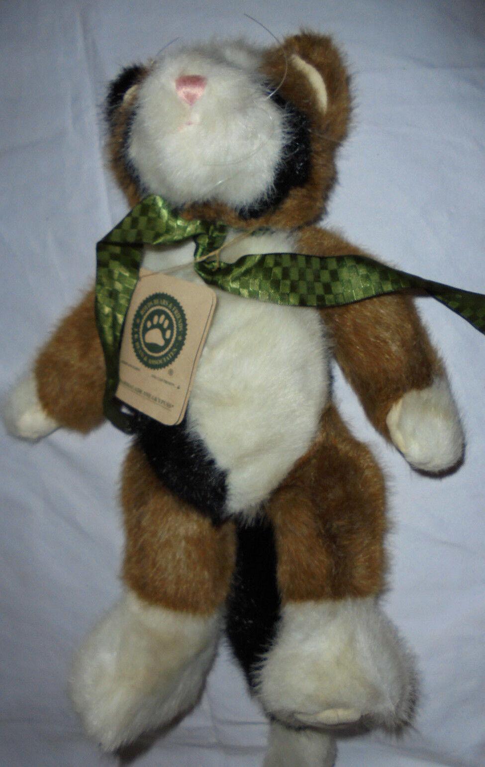 Boyds Bears Marmalade Sneakypuss Cat Bean 14  Plush Soft Toy Stuffed Animal