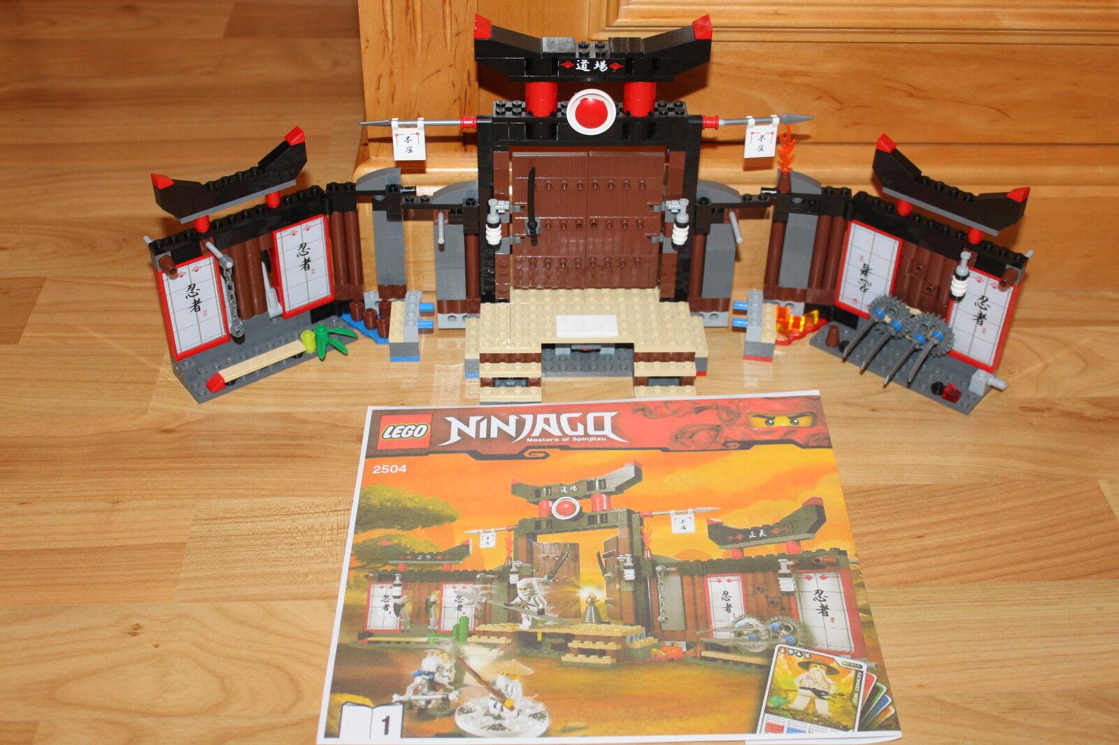 Lego Ninjago - Ninja SPINJITZU DOJO mit Waffen, Kendo Samurai aus Set 2504  | Spielen Sie auf der ganzen Welt und verhindern Sie, dass Ihre Kinder einsam sind