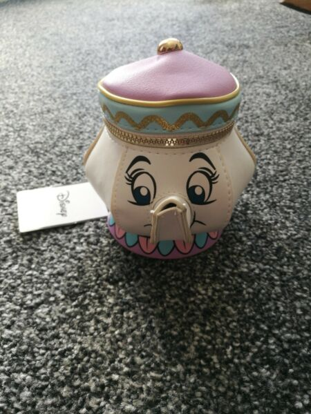 * Bnwt * Disney Tea Cup Borsetta Moda Attraente