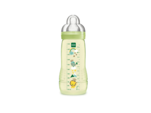 MAM-4-m-Easy-Active-Plastic-Bottle-Color-GREEN-330ml-x2