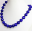10mm-elegant-blue-sapphire-jade-faceted-round-beads-women-necklace-18 thumbnail 2