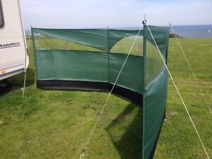 Image Is Loading Wind Screen Blocker 150 X 500cm Camping