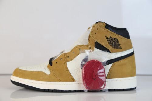 Air Jordan Retro 1 High OG ROY Rookie Year Wheat Golden Harvest 555088-700 5-13