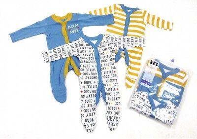 Coraggioso Baby Boys Girls Ex Store 3/4 Pack Pigiami Babygrow Multi Pack Babygrows-mostra Il Titolo Originale