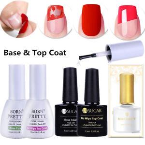 No-Wipe-Top-Coat-Base-Coat-Nail-Art-UV-Gel-Nail-Polish-Gel-Nails-DIY