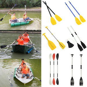 Detachable Aluminum Paddles Oars For Afloat Kayak Canoe Inflatable Rafting Boat