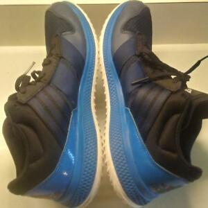 ADIDAS BOUNCE Shoes Blue 3 Stripe Men's Size 13 BEAUTIFUL MUST SEE !