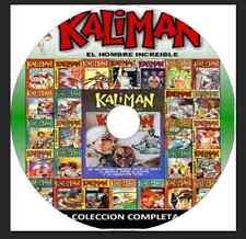 Kaliman, el Hombre Increible, Coleccion Completa en DVD, formato PDF