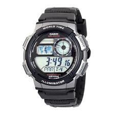 Casio AE1000W-1B Mens World Time Digital Sports Watch Alarm Chronograph Resin