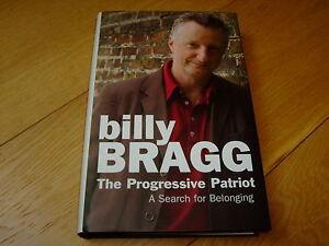 BILLY-BRAGG-THE-PROGRESSIVE-PATRIOT-SIGNED-1ST-2006-HB-NF-BANTAM-PRESS-SCARCE