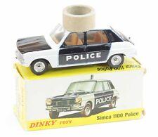 DINKY TOYS 1 / 43 ème SIMCA 1100 POLICE en boite / jouet ancien