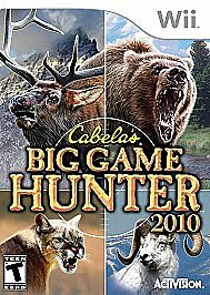 Cabela's Big Game Hunter 2010 (Wii, 2010) Rated T for Teen