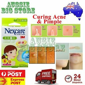 2-x-36-Pcs-Nexcare-3M-Acne-Dressing-Pimple-Sticker-Inflamed-Zit-Heal-Patch-TW