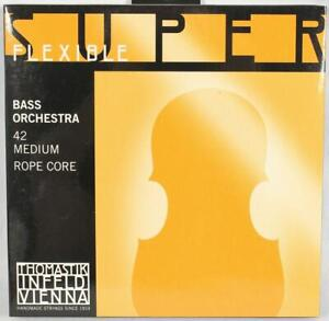 GéNéReuse Thomastik-infeld Super-flexible 42 Vertical Bass String Ensemble Orchestra Strings-ld Super-flexible 42 Upright Bass String Set Orchestra Strings Fr-fr Afficher Le Titre D'origine Bon GoûT