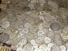 90% PURE SILVER 1+OZ 1940's & OLDER CLEAR DATE COINS~HALF DOLLAR QUARTER &DIMES!